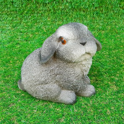 Кролик-2 серый - фото 4917