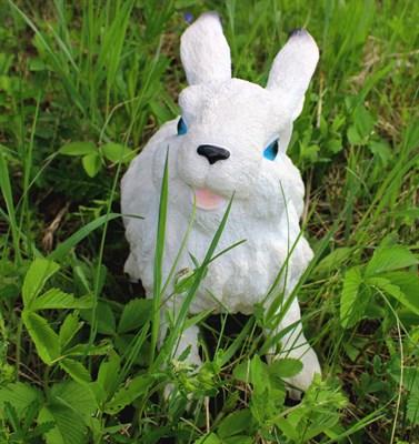 Заяц Б2 белый - фото 4936