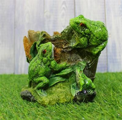 Кашпо лягушки - фото 5095