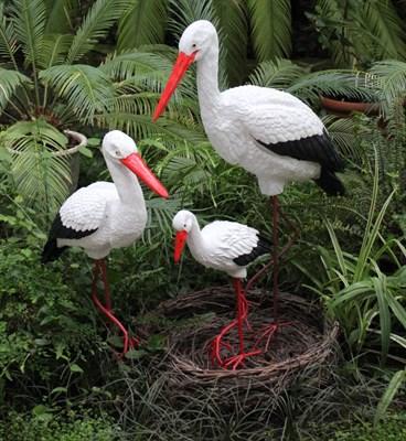 Комплект Аистов с гнездом - фото 5196