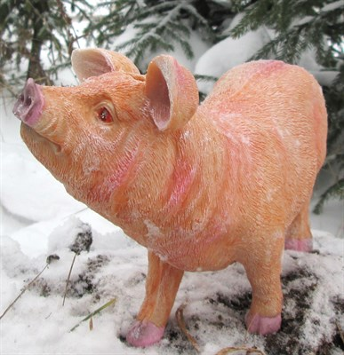Свинка стоячая копилка - фото 5355