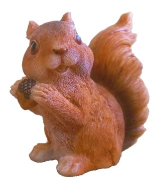Белка (м) с орешком - фото 5392