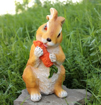 Заяц с морковкой - фото 4923