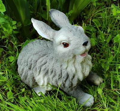 Заяц Б2 серый - фото 4934