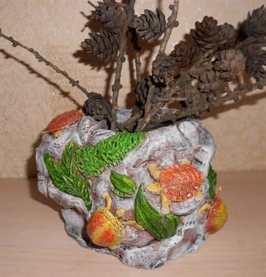 Кашпо с морскими черепахами - фото 5131