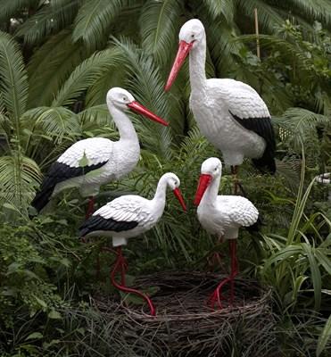 Комплект Аистов с гнездом №2 - фото 5258