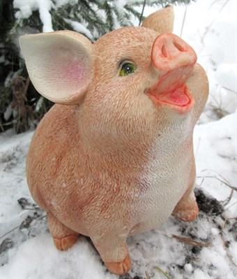 Свинка сидячая копилка - фото 5350
