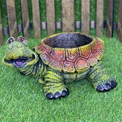 Кашпо черепаха - фото 5453