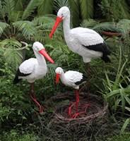 Комплект Аистов с гнездом